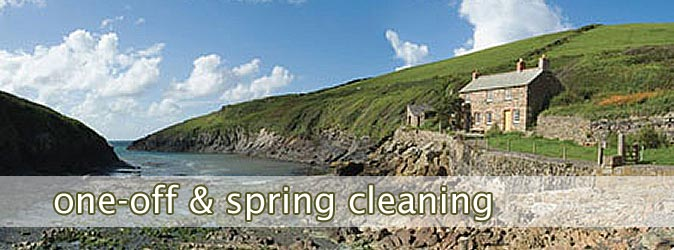 One-off cleaning, spring cleaning, wadebridge